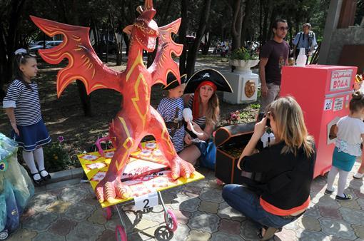 Парад креативных  колясок в Крыму