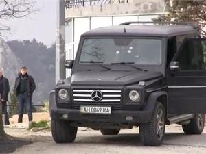 автомобиль, в котором расстреляли Кирилла Костенко