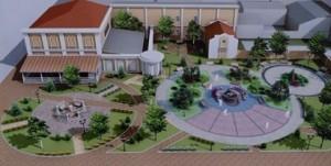 проект сквера в Симферополе