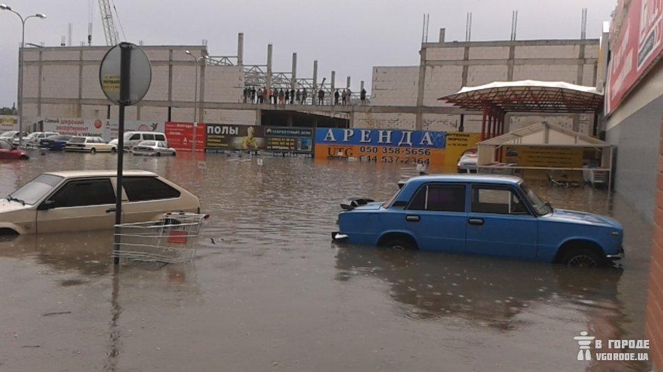 Крым «накрыли»  дожди