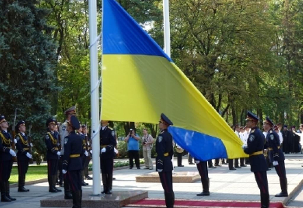 Крым празднует День Государственного флага Украины