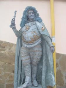 театр живых статуй, Евпатория