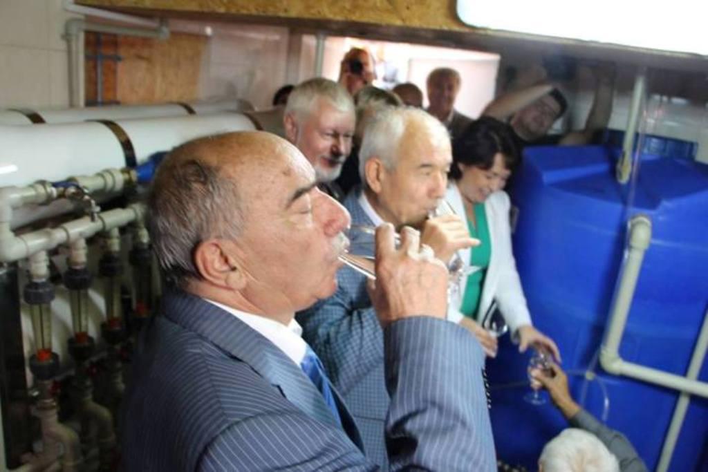 В  Крыму  презентовали  комплекс по опреснению морской воды