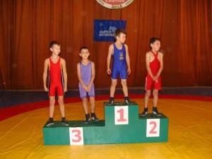 победители турнира по вольной борьбе