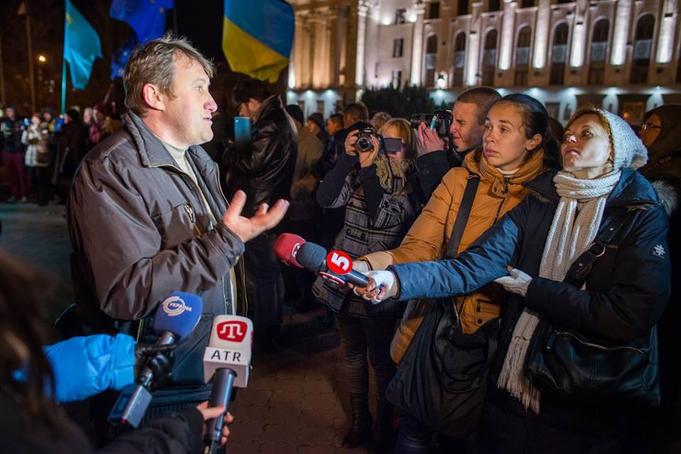 Крымчане едут  на столичный ЕвроМайдан