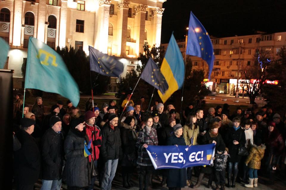 Евромайданов в Крыму нет?!