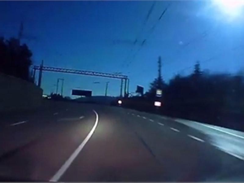 В Крыму упал метеорит? (Видео)