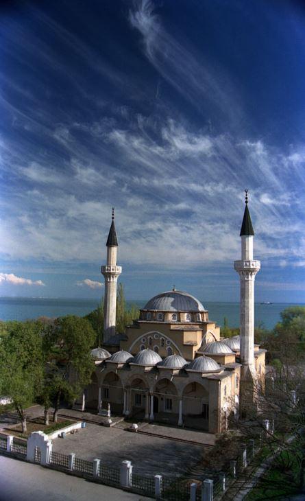 Фото Евпаторийской мечети  – в тройке  лучших!