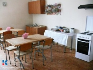 кухня, социальное общежитие