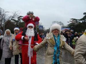 Санта-Клаус отдыхает, на арене - Дед Мороз!