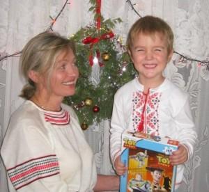 Денис Власов, 5 років, Євпаторія,Різдво 2013 р.