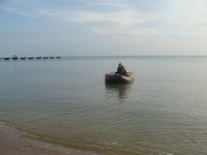 спастели, Рождественские заплывы