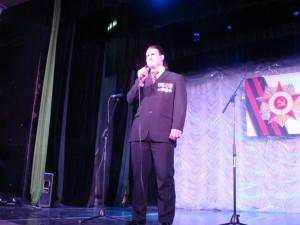 Миротворец и солист ансамбля Владимир Белоконь не понаслышке знает, что такое война!