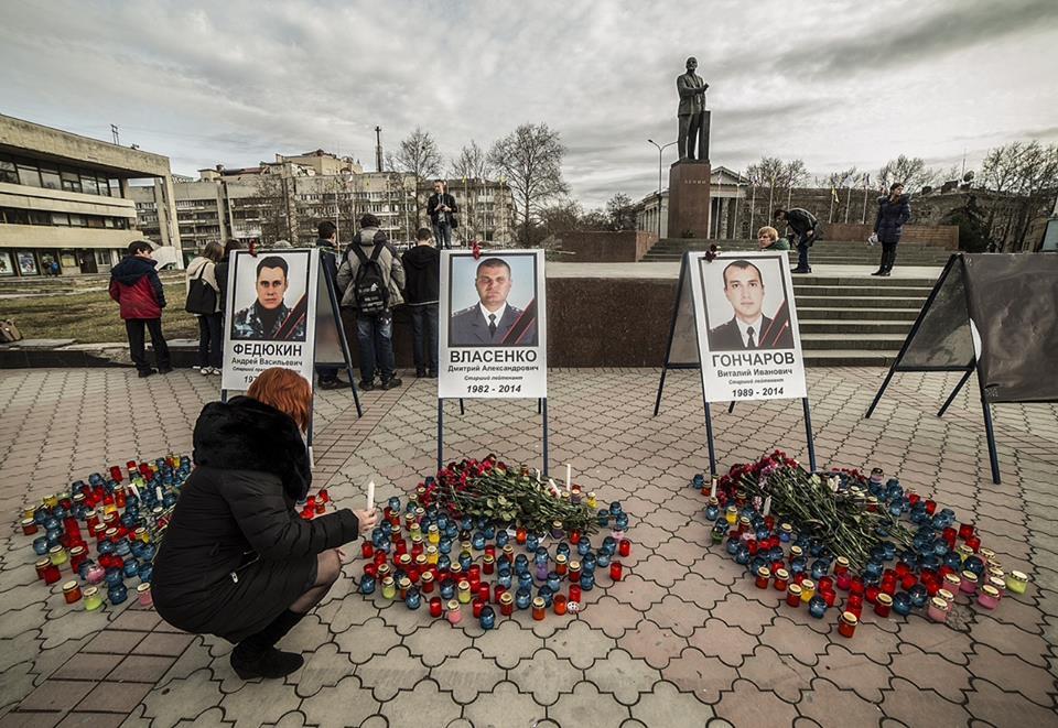 Россияне  собрали материальную помощь семьям  погибших на Майдане крымских  «беркутят»