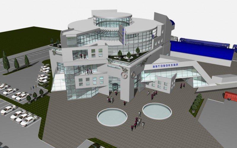 В Симферополе  построят  пригородный  автовокзал на 500 мест