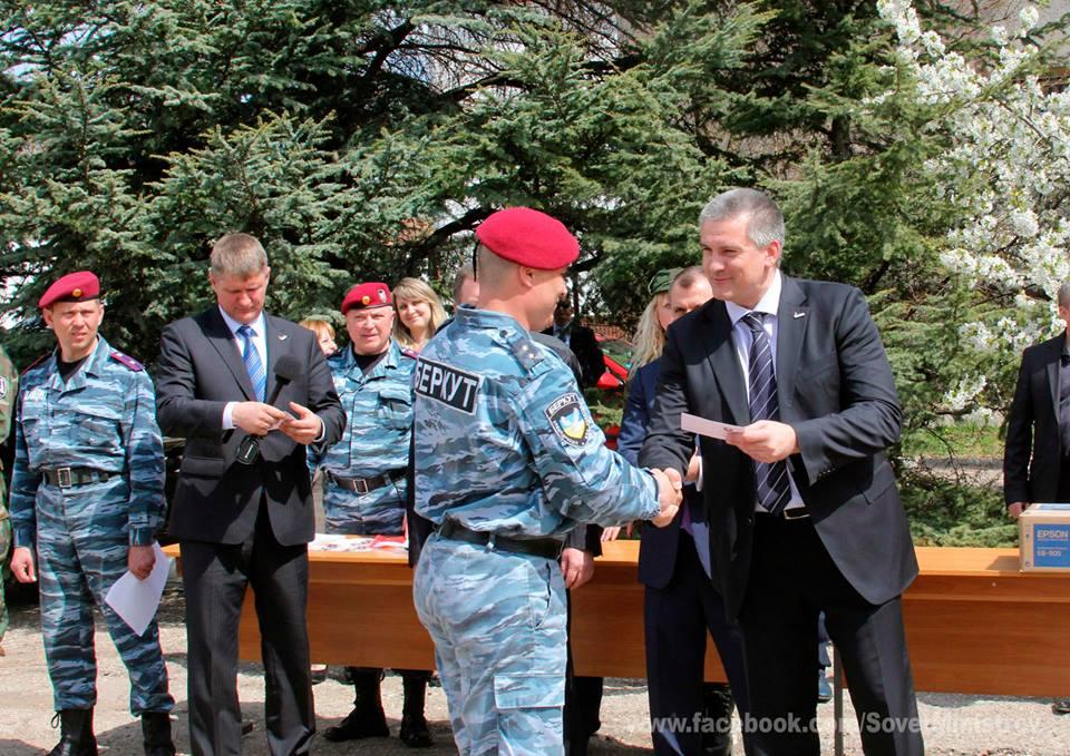 Сергей Аксенов: «Я  горжусь тем,  что  имел честь жать руку каждому из вас!»