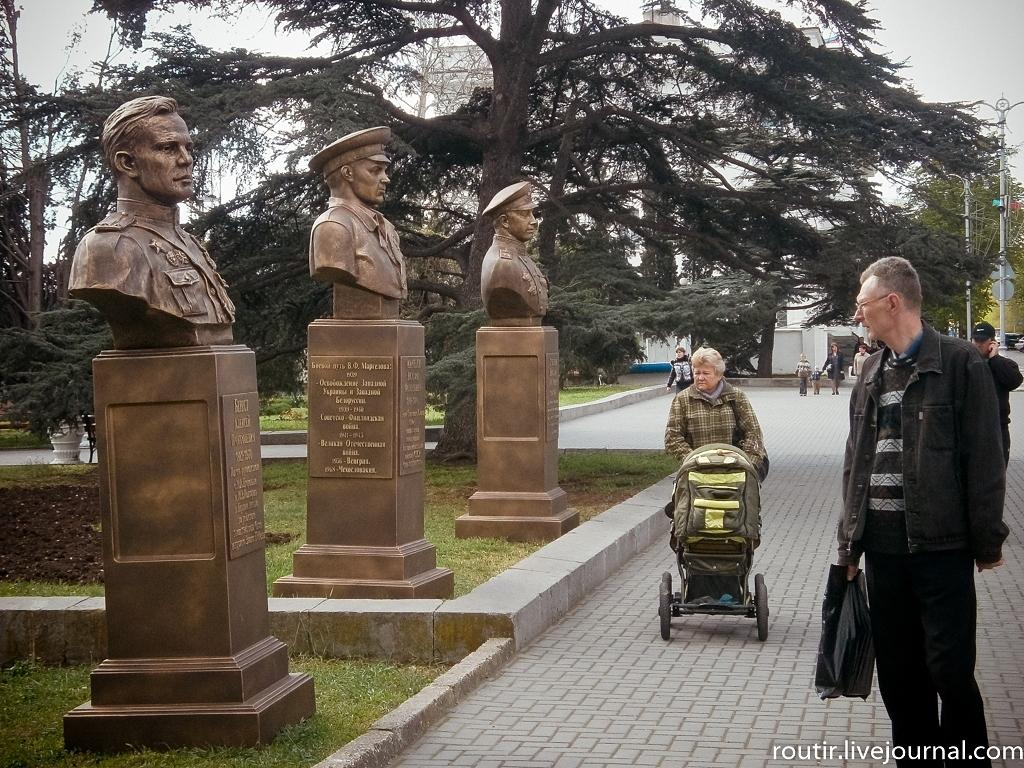 В Севастополе   будет  «Аллея  Российской Славы»