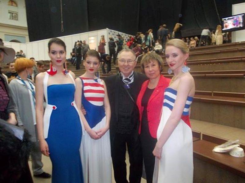 На неделе моды в Москве  впервые побывали крымские модельеры