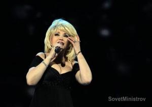 Очаровательна Ирина Аллегрова  покорила сердце крымской публики