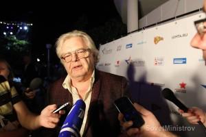 Первое  интервью для прессы  Юрия Антонова