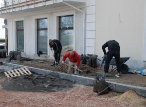 реконструкция площади в Евпатории