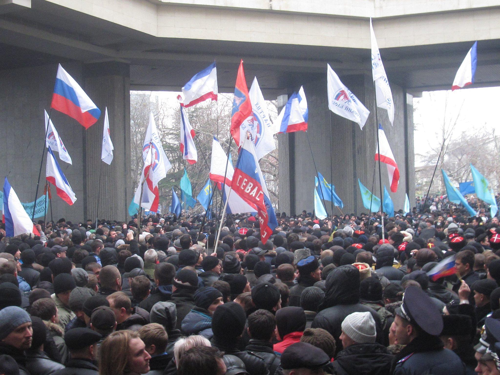 Крымская весна, 26 февраля:  как это было!