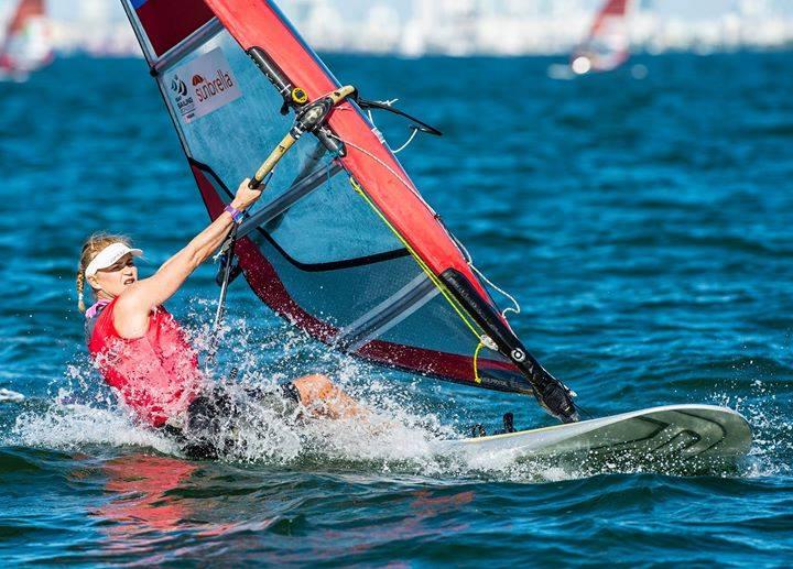 Яхтсменка из Крыма   завоевала бронзу   на соревнованиях    в Майами