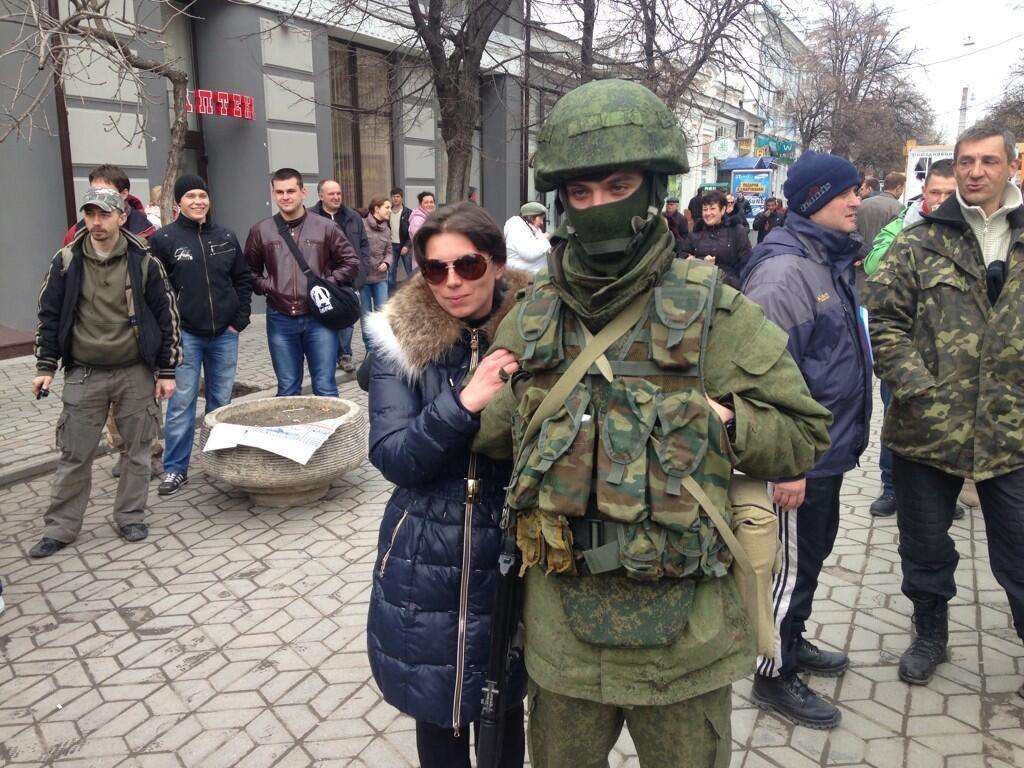 Крымская весна, 27 февраля: вежливые люди…( видео)