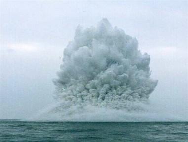 Что за взрыв прогремел в акватории Ялты?