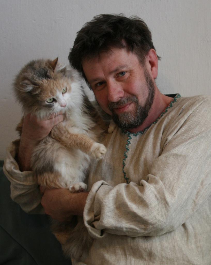 Замечательные коты  Анатолия Ярышкина (фото, видео)
