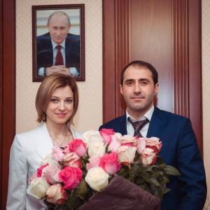 Цветы для  удивительного прокурора!