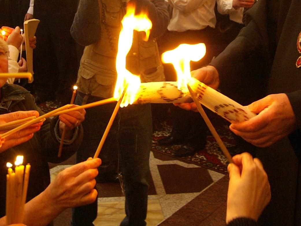 На Пасху  в  Крым  прибудет Благодатный огонь