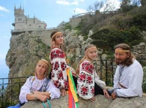 русская душа в Форосе