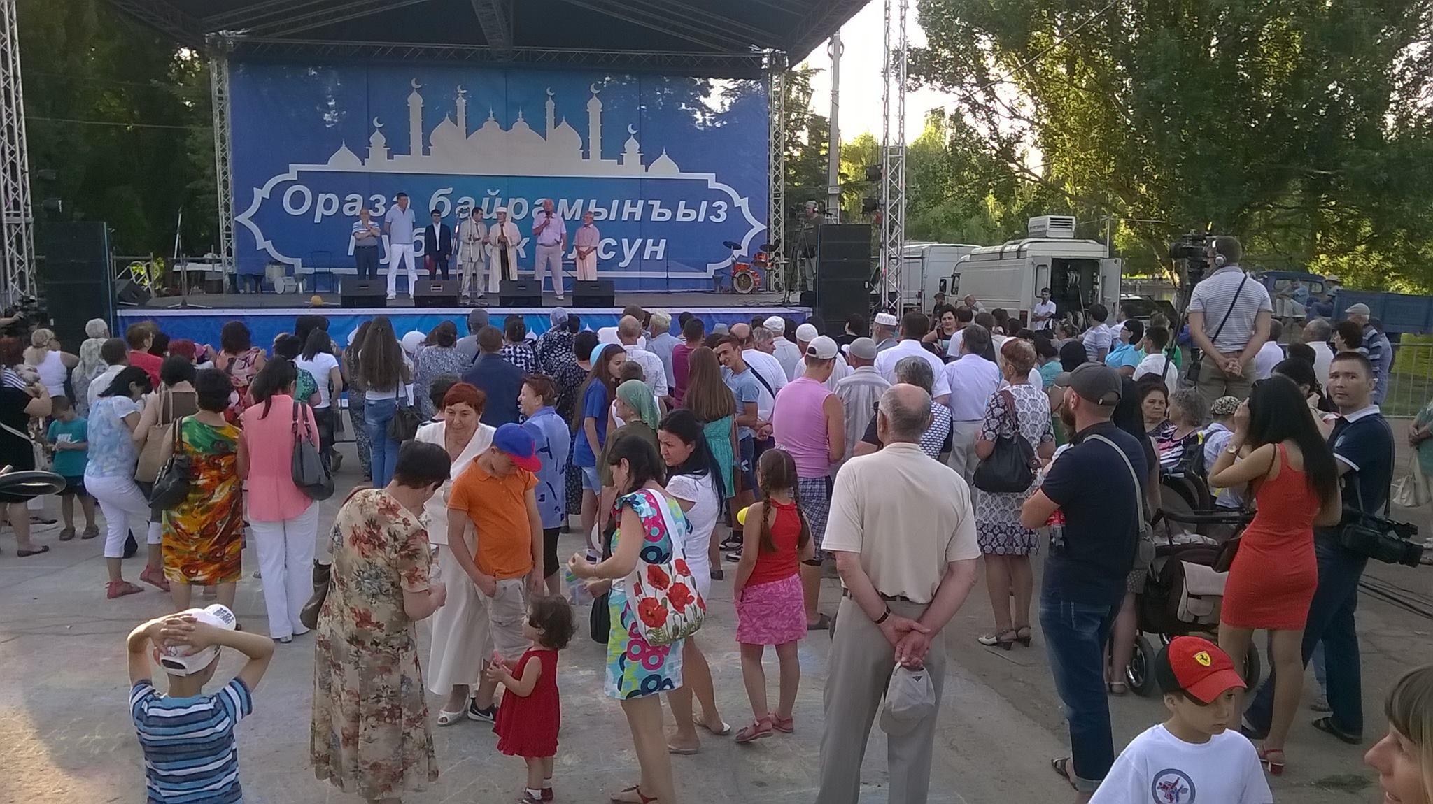 Как в Крыму отпраздновали Ураза-байрам