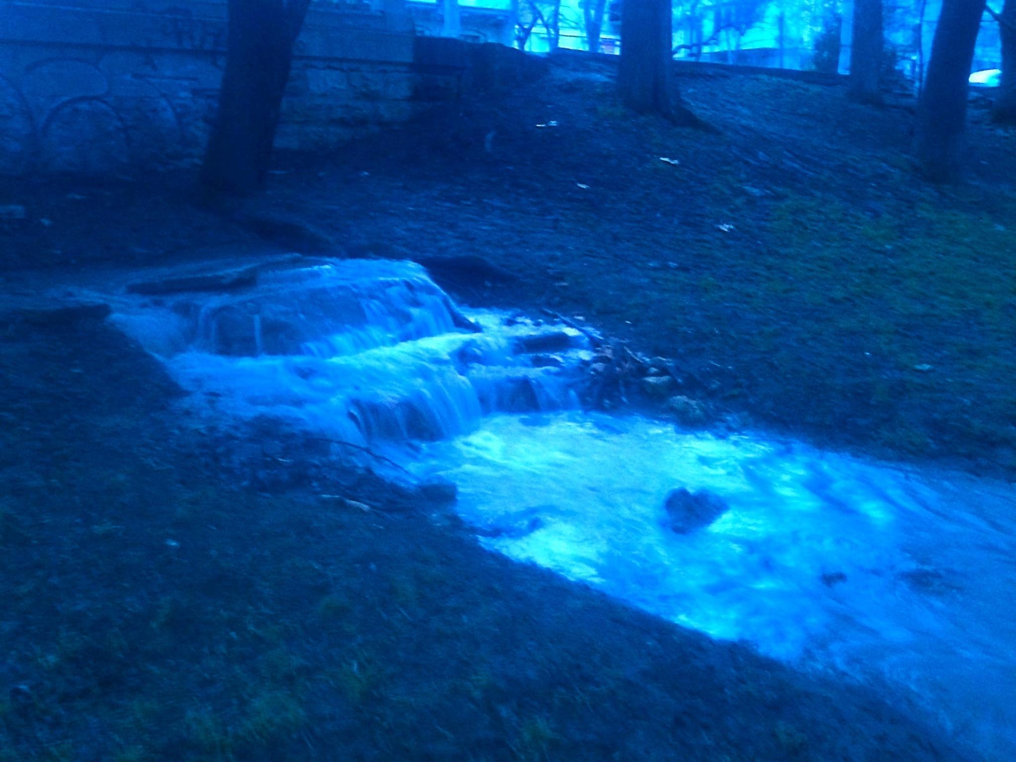 В Севастополе появился…водопад!