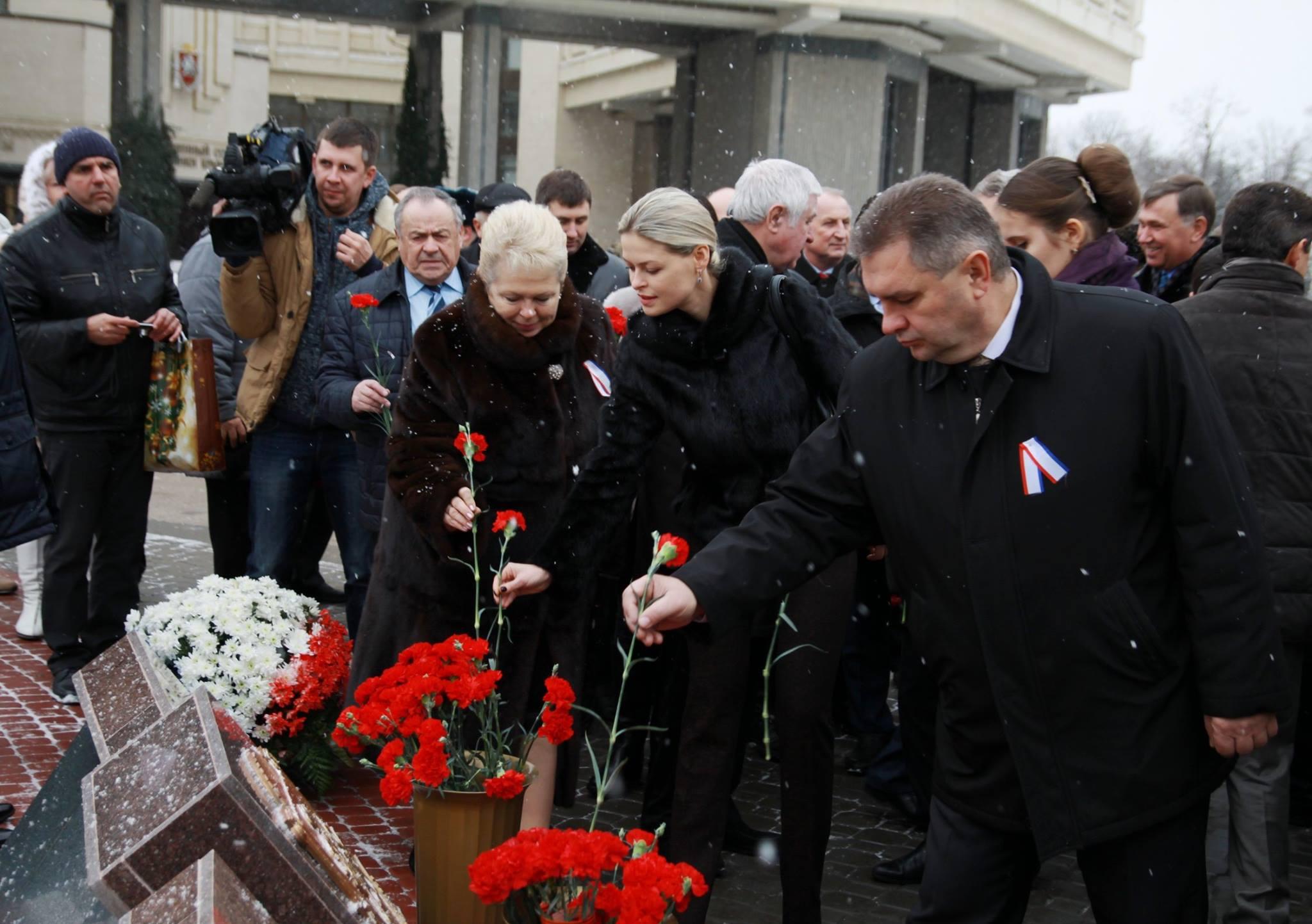 Крымчане отметили день рождения Республики