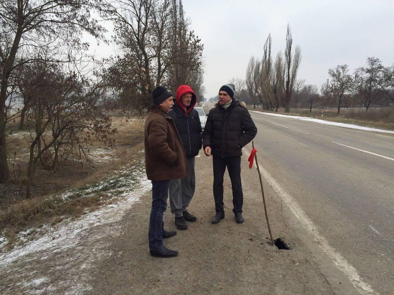 В Крыму перекрыли московскую трассу