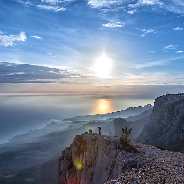 В Крым идёт аномальное тепло