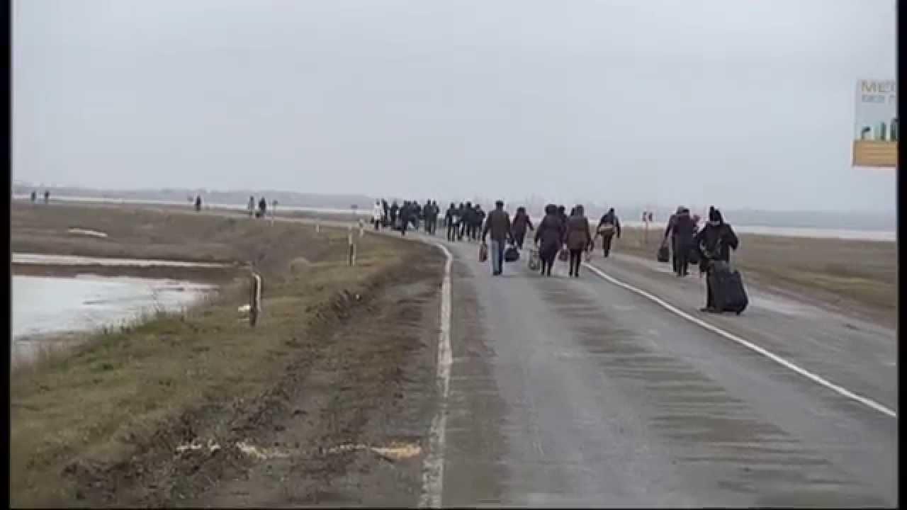 Поездка на Украину для крымчан: риски и стрессы
