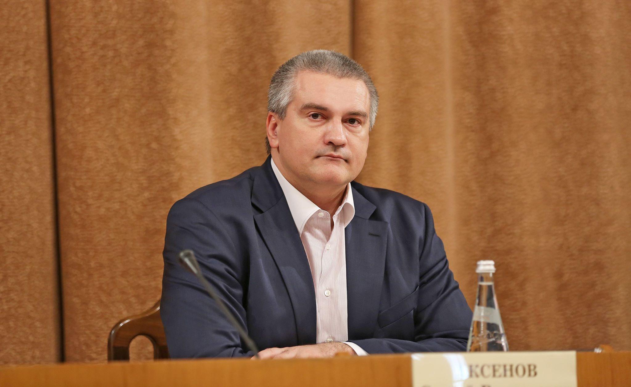 Аксенов пообещал крымчанам надежную защиту от коллекторов
