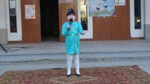 Самая юная певица Сабина Швец