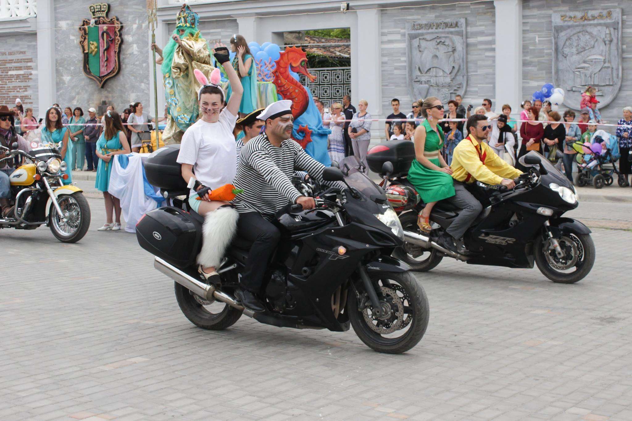 В Евпатории торжественно открыли курортный сезон!