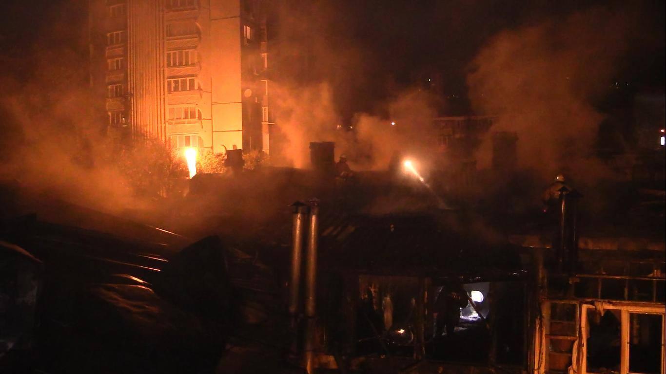 Пожар в Ялте полностью ликвидирован