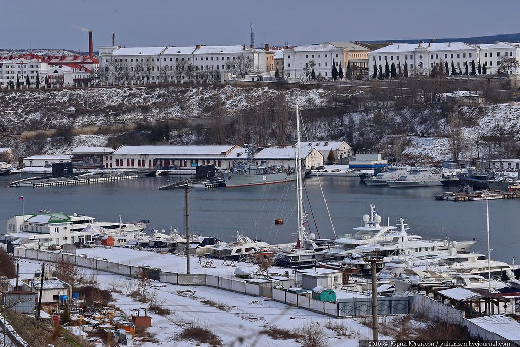 Зимний Севастополь, моя Родина…