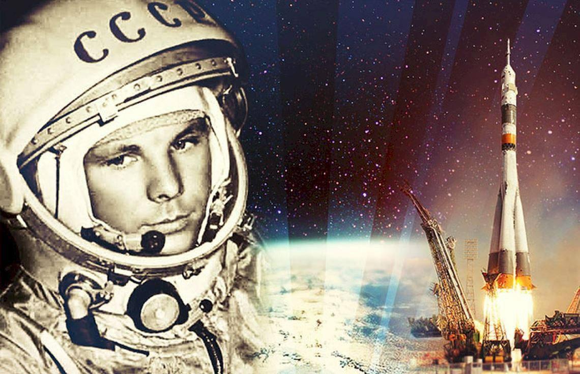 Ровно 56 лет назад человек впервые полетел в космос!