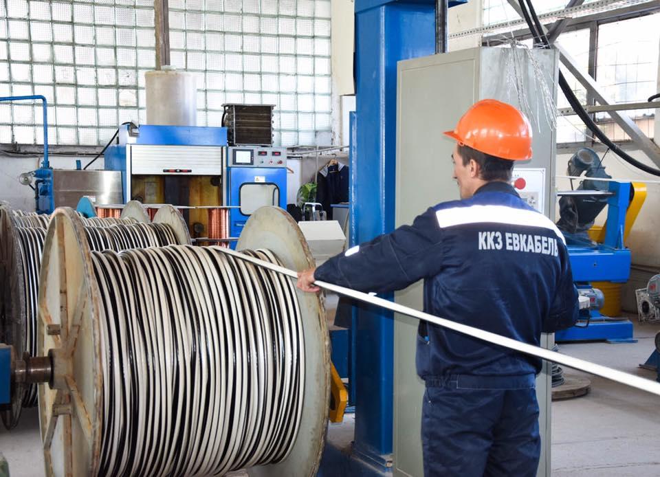 В Евпатории открыли завод по производству кабеля