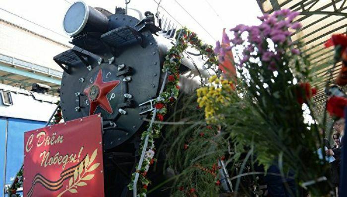 В этом году Поезд Победы до Евпатории не доедет