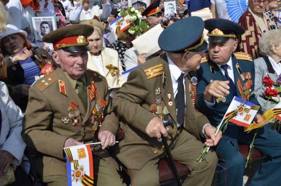 День Победы в Крыму: Феодосия…