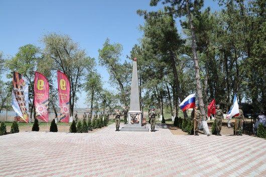 В Крыму восстановлена еще одна братская могила