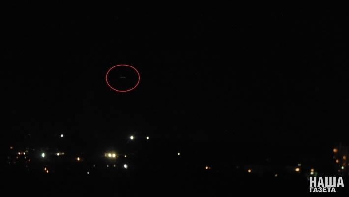Внебе над Симферополем заметили похожий на НЛО объект